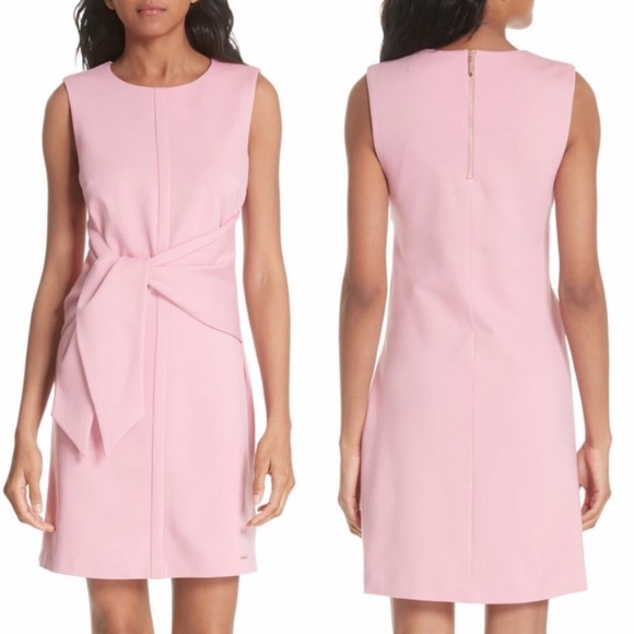Ted Baker London Dresses & Skirts - Ted Baker Papron Tie Front Dress Pink 3